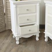 Lila Range - White Bedside Chest