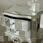 Tiffany range - 2 drawer bedside table