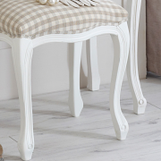 Classic White Range - Dressing Table with Stool
