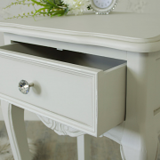 Elise Grey Range - One Drawer Lamp Table