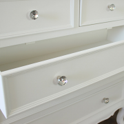 Elise White Range - Five Drawer Chest of Drawers