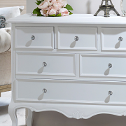 Elise White Range - 6 Drawer Chest