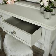 Elise Grey - Dressing Table, Mirror & Stool