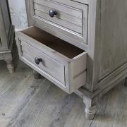 Pair of Three Drawer Bedside Tables - Hornsea Range