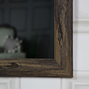 Large Rustic Washed Wall Mirror 69cm x 99cm