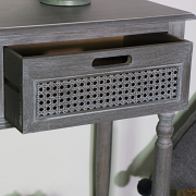 Grey 2 Drawer Console Table - Milan Range