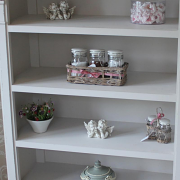 Lyon Range - Low Bookcase with Drawers
