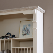 Lyon Range - Cream Wall Mounted Plate Rack