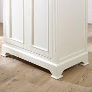 Linen Closet/Low Wardrobe Storage Cabinet - Daventry Cream Range