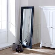 Tall Black Full Length Mirror 47cm x 142cm