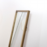 Tall Gold Full Length Mirror 40cm x 140cm