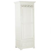 Fleur Blanche Wardrobe single in white
