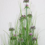 Artificial Purple Allium Grass