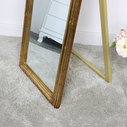 Free Standing Vintage Gold Mirror