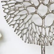 Silver Coral Ornament