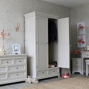 Daventry Range - Grey Double Wardrobe