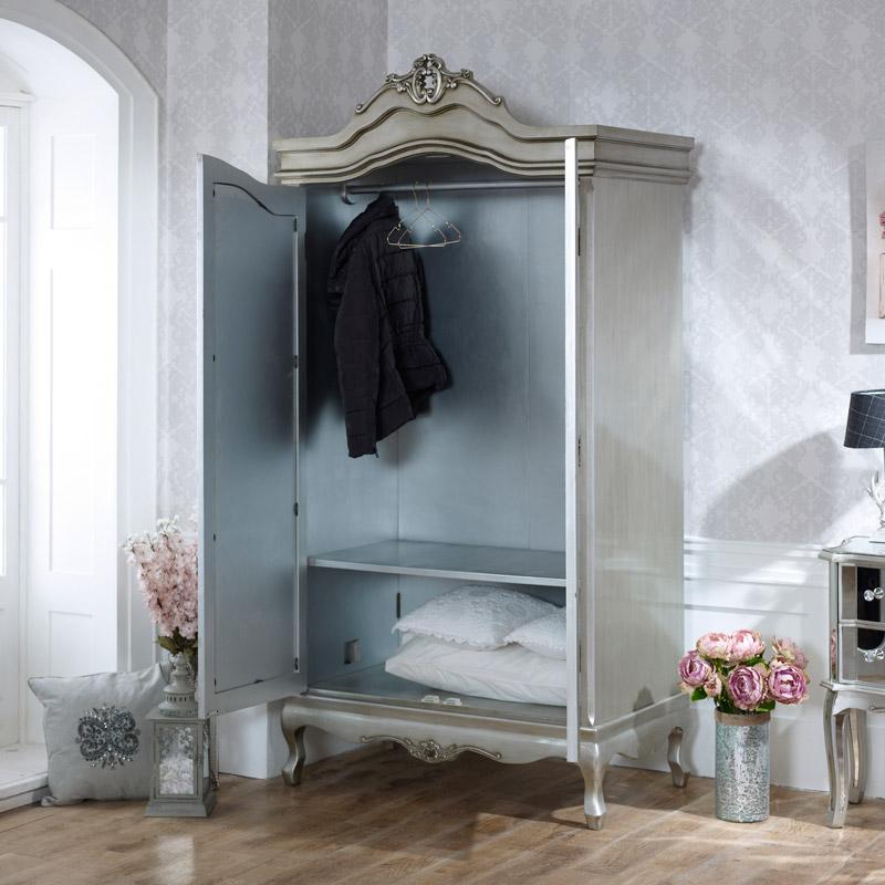 Tiffany Range Furniture Bundle Mirrored Set Flora