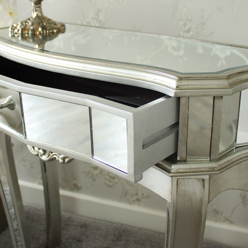 Tiffany Range Half Moon Console Table Flora Furniture
