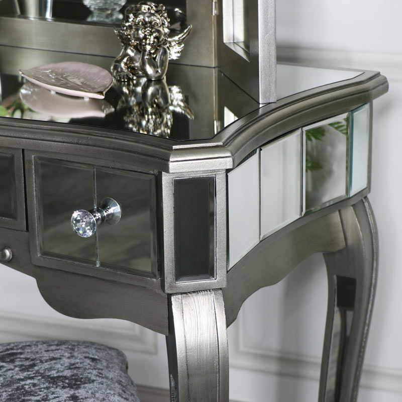 Mirrored Dressing Table Amp Mirror Tiffany Range Flora