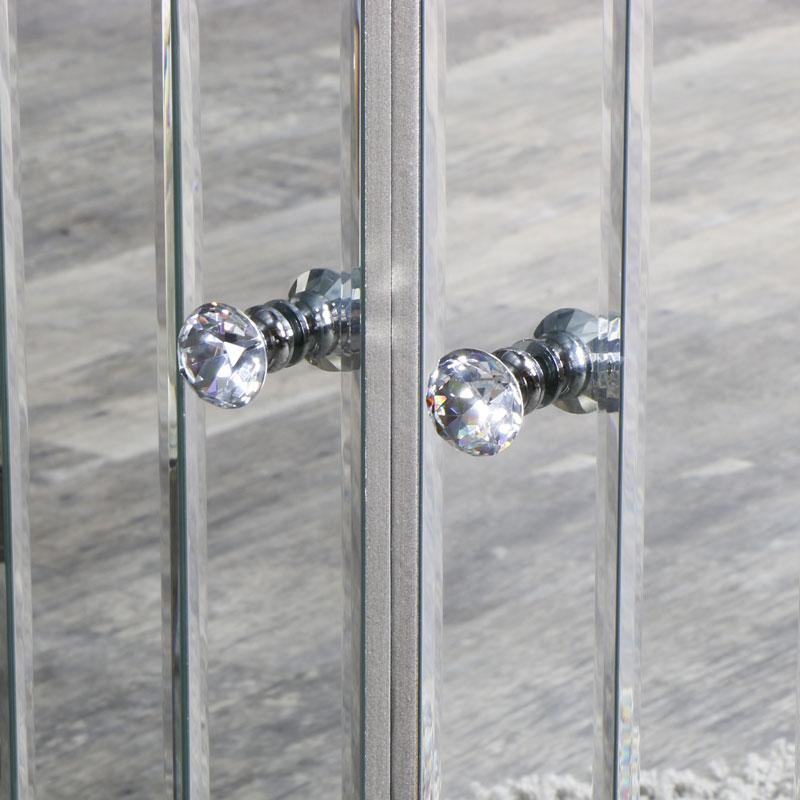 Tiffany Range Large Mirrored Sideboard Flora Furniture