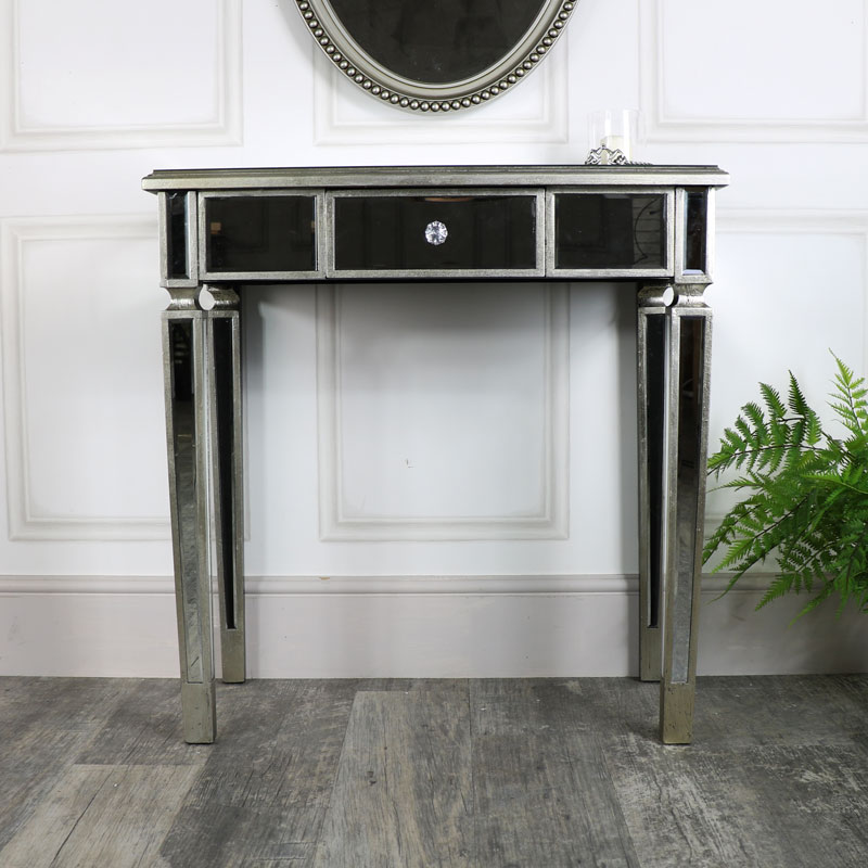 One Drawer Dressing Console Table Flora Furniture