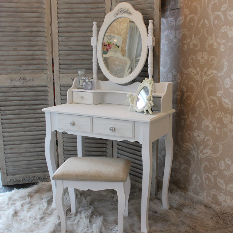 Dressing Table Mirror Stool Amp 2 Bedside Tables Flora