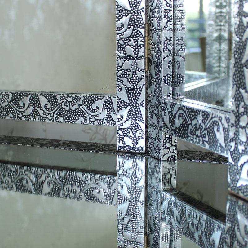 Monique Range - Silver Triple Mirror