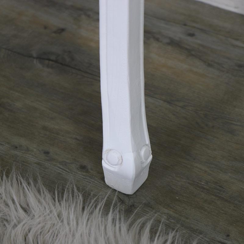 Elise White Range - 3 Drawer Console/Dressing Table