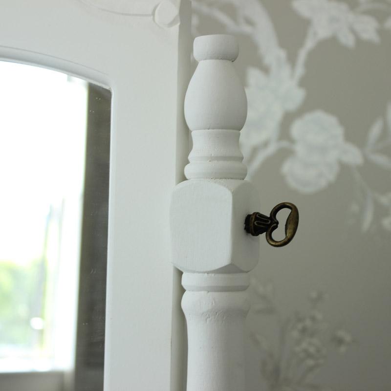 Elise White Range - Dressing Table, Mirror and Stool