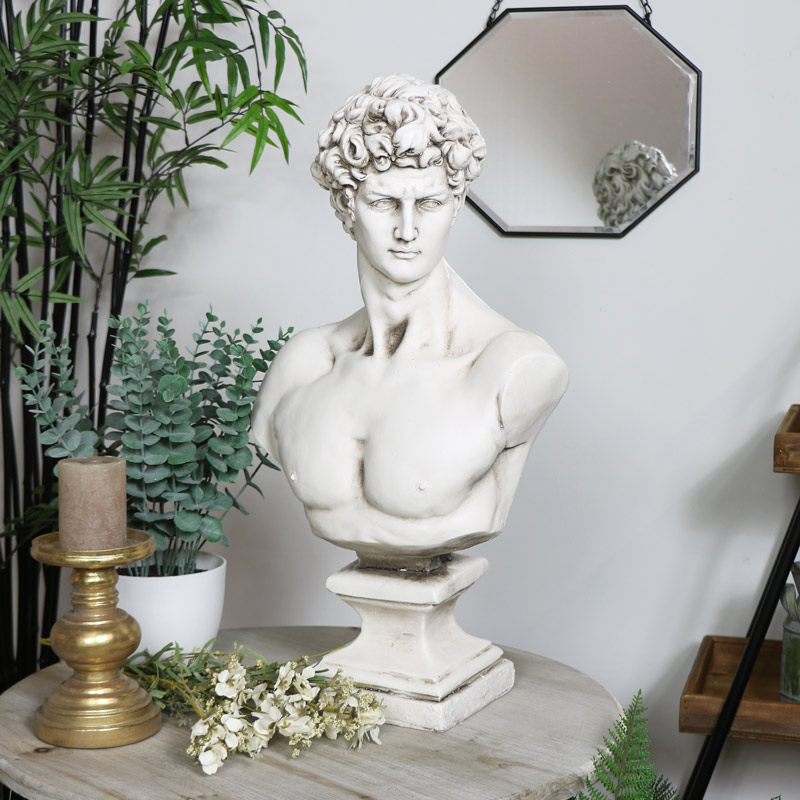 Vintage David Bust Ornament