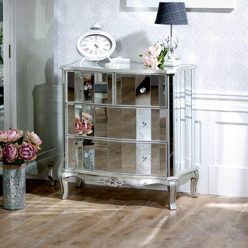 Tiffany Range 4 Drawer Chest Flora Furniture