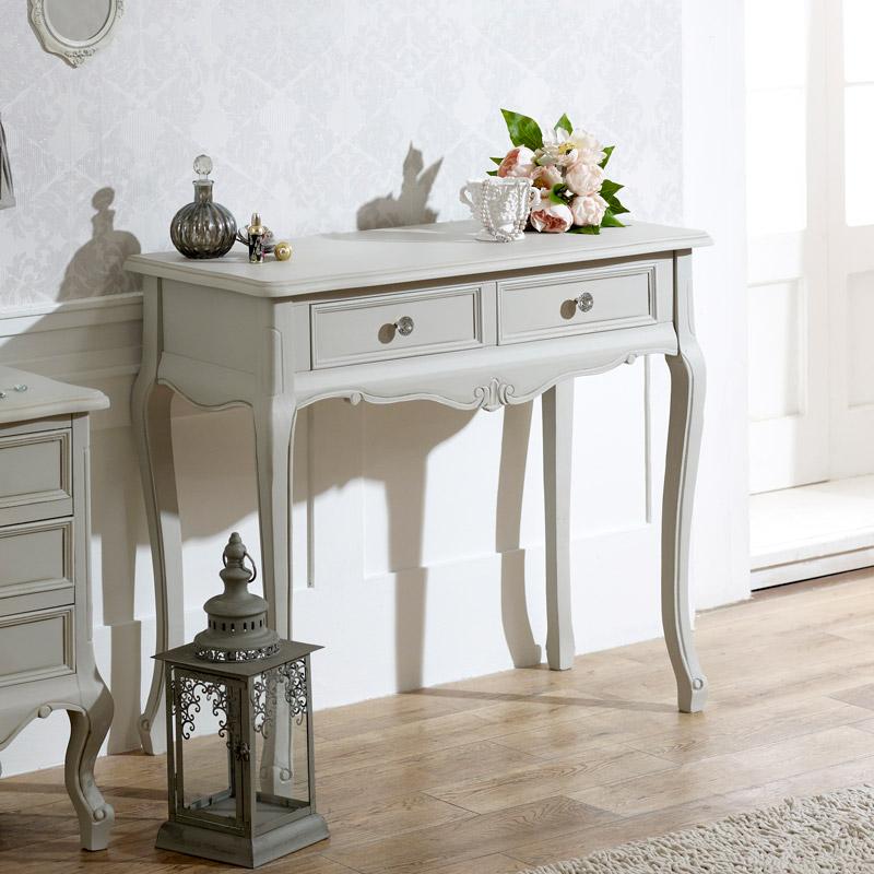Elise Grey Range - 2 Drawer Console Table