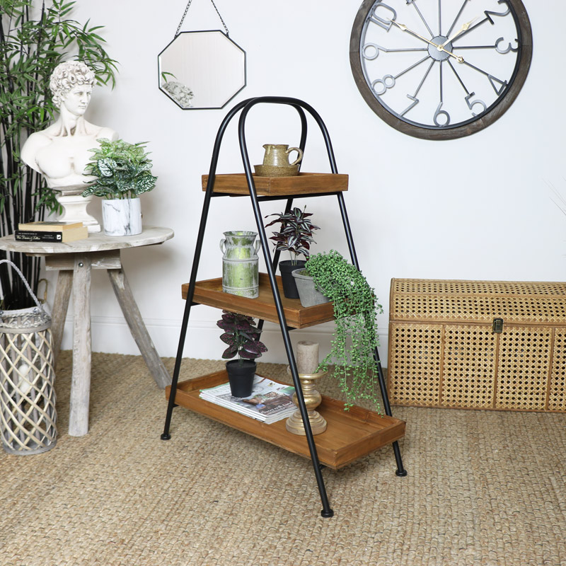 Industrial Free Standing Display Shelf
