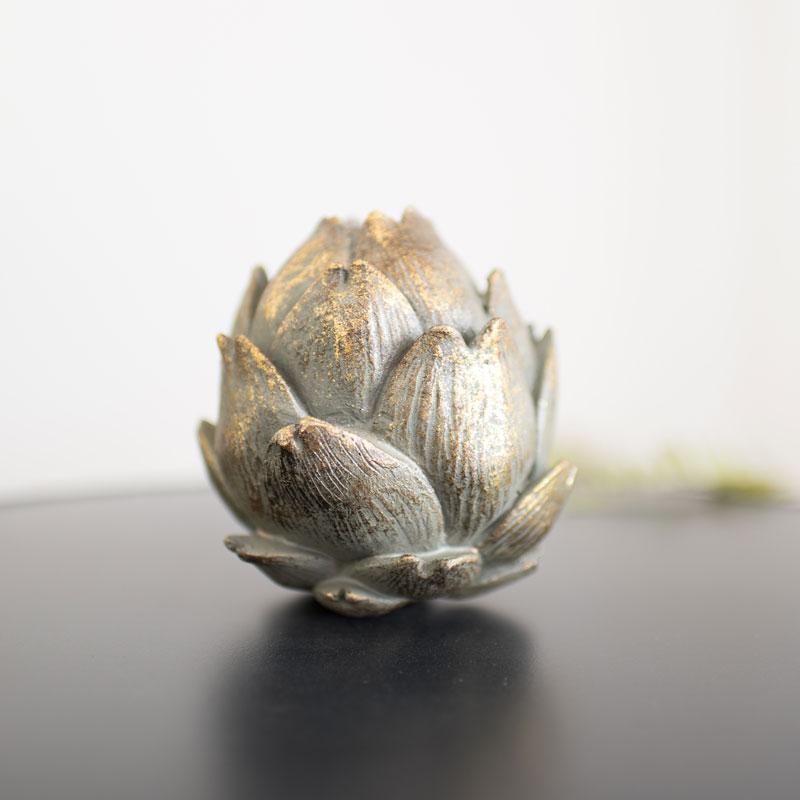Small Antique Gold Artichoke Ornament