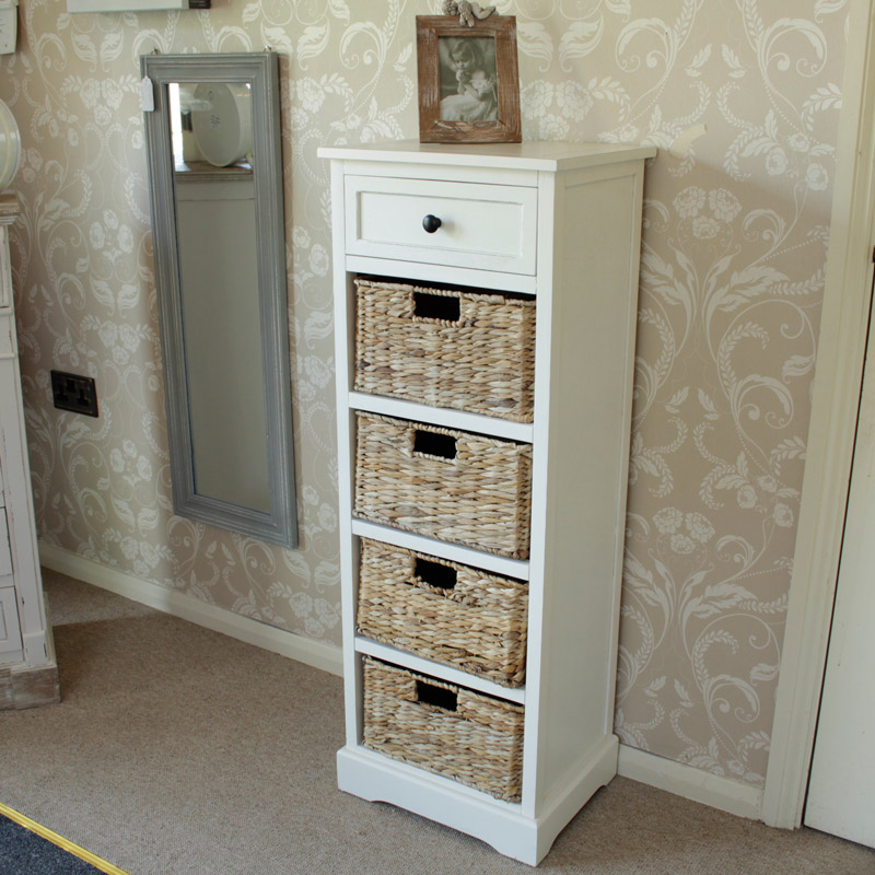 Ivory chest of drawers for bedroom
