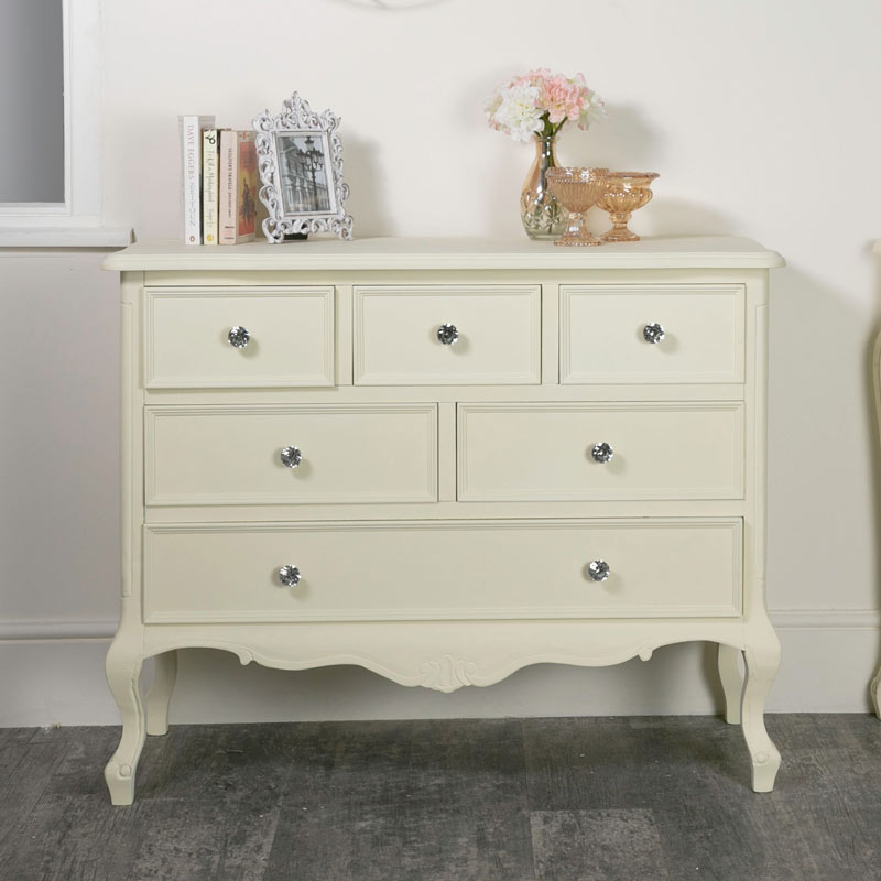 Large Chest of Drawers - Elise Cream Range