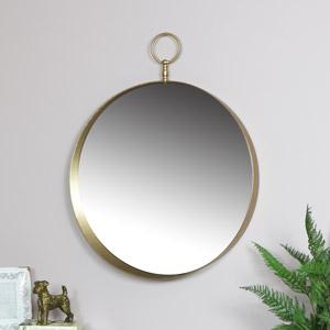 Gold Decorative Wall Mirror 61cm x 76cm