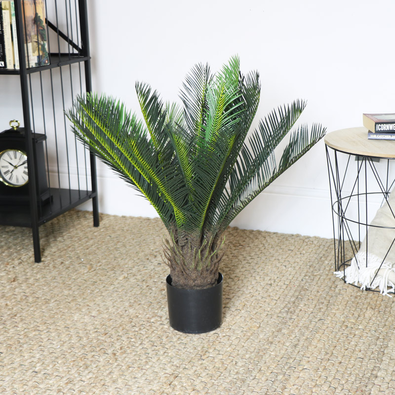 Small Faux Cyad Plant