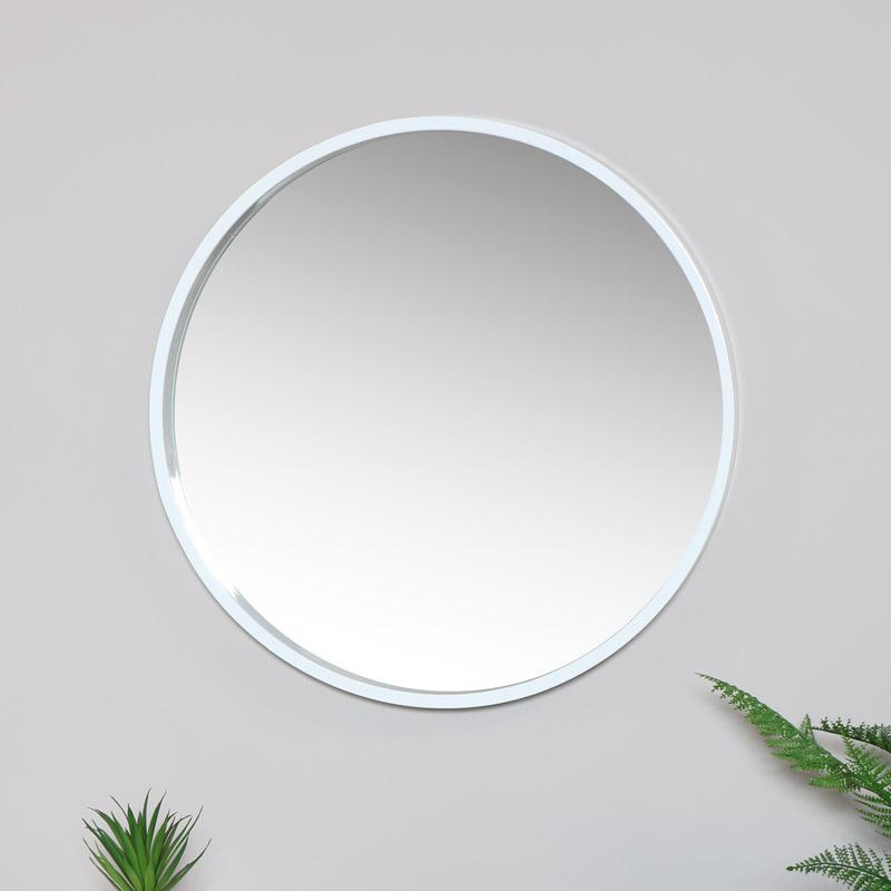 White wall Mirror 60cm x 60cm