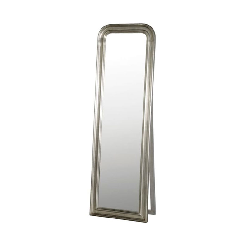 Free Standing Silver Mirror