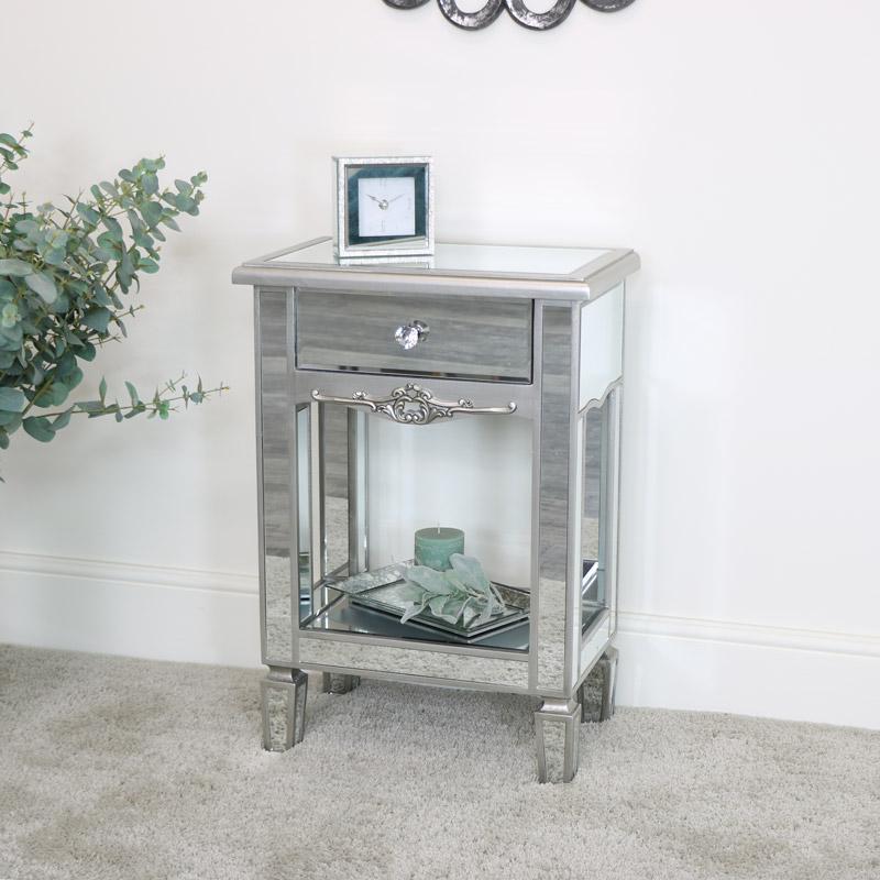 1 Drawer Bedside Table  - Tiffany Range