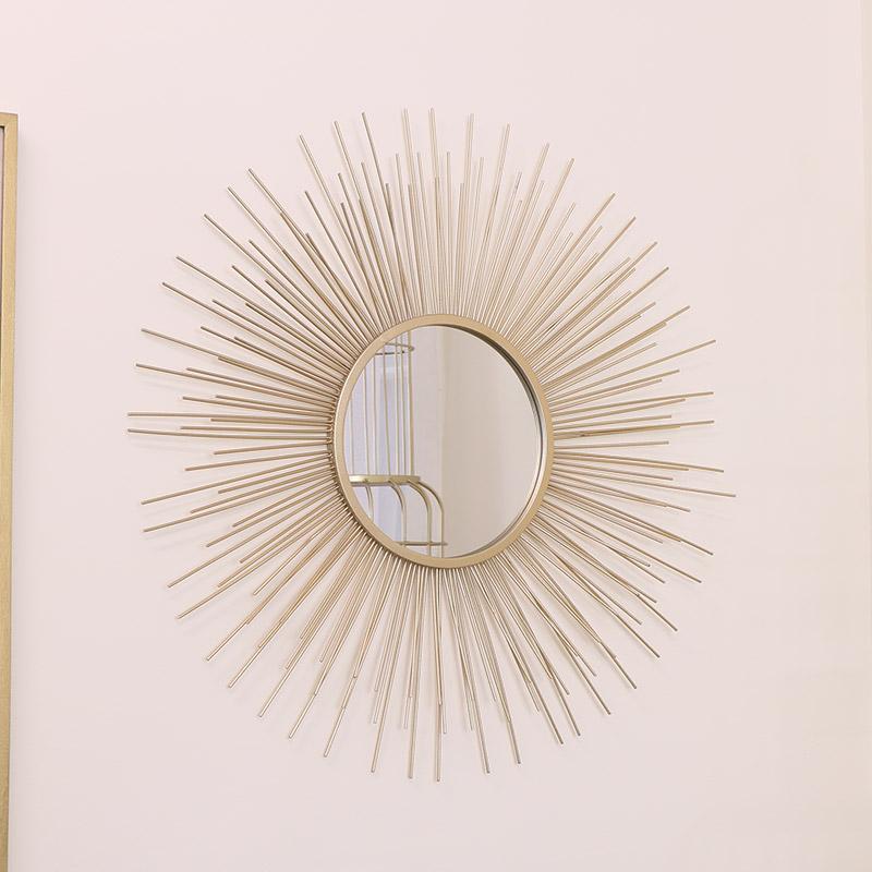 Large Gold Sunburst Mirror 80cm x 80cm