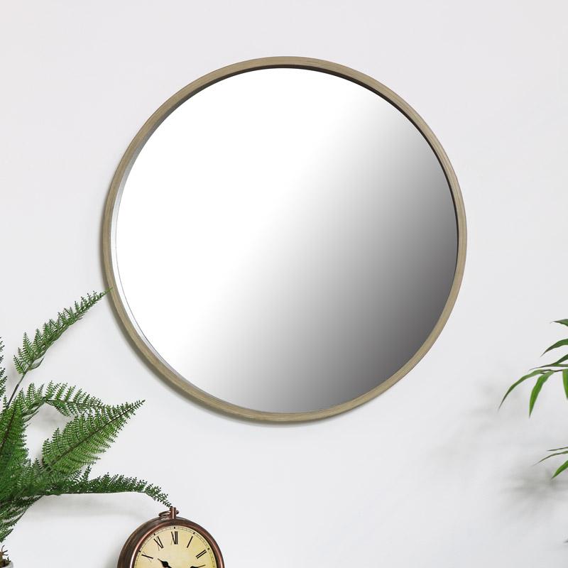 Round Wall Mirror 60cm x 60cm