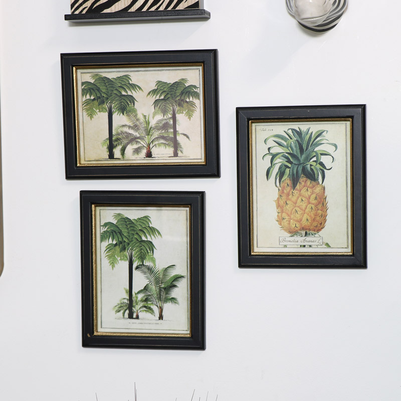 Framed Botanical Wall Art Prints