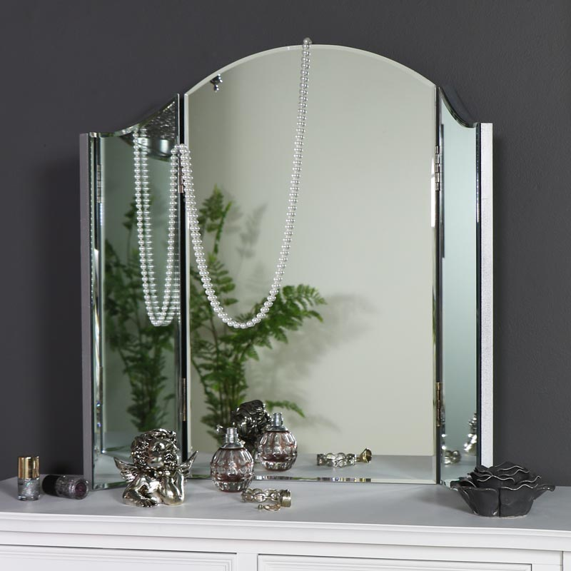 Dressing Table Triple Mirror