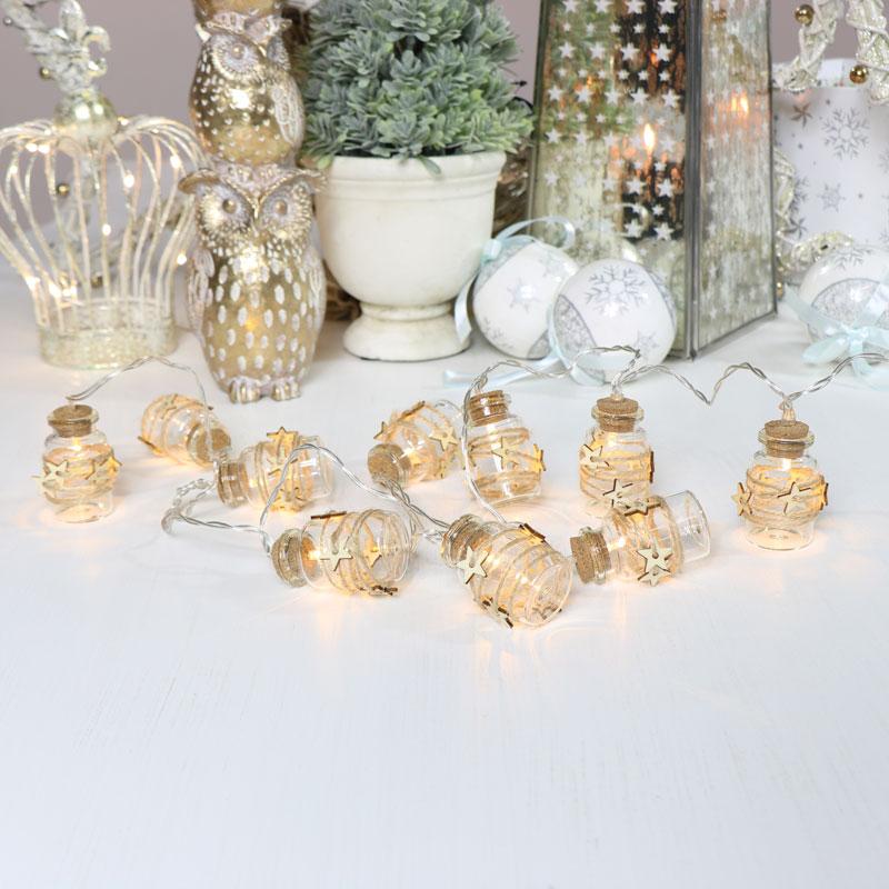 Christmas Jar LED Fairy Lights