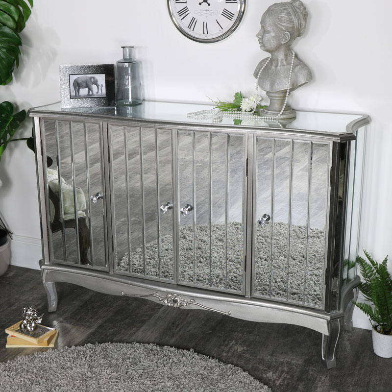 Tiffany Range - Large mirrored sideboard