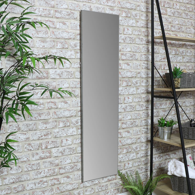 Full Length Wall Mirror 31cm x 121cm