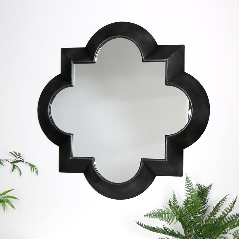 Large Curved Moroccan Mirror