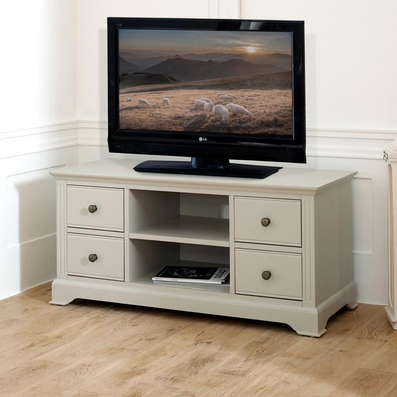 TV Cabinet / Media Unit - Davenport Taupe-Grey Range